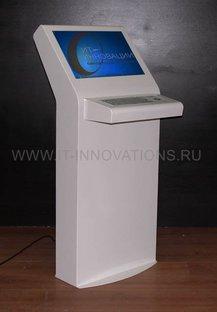 Сенсорный информационный киоск ИТ-И-21/2 с клавиатурой