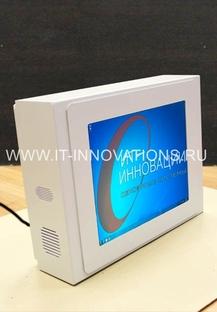 Настенный сенсорный информационный терминал ИТ-И-5