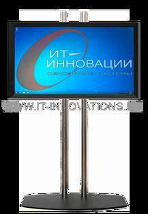 Напольная стойка для сенсорного монитора ИТ-И-108-1 (32-65 дюймов)