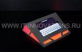 Настольный киоск-корпус под планшет с подсветкой