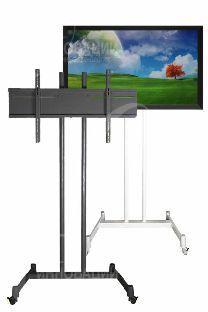 Передвижная напольная стойка под 1-н монитор 42-65 дюймов